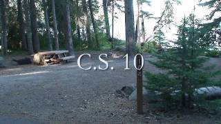 odell lake resort campground