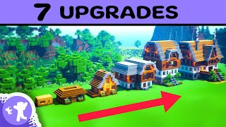Minecraft Survival Base   7 Upgrades