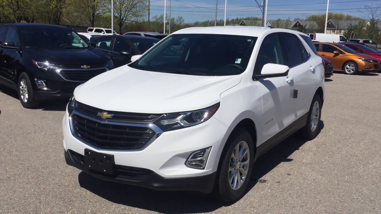 2018 Chevrolet Equinox LT Summit White Roy Nichols Motors ...