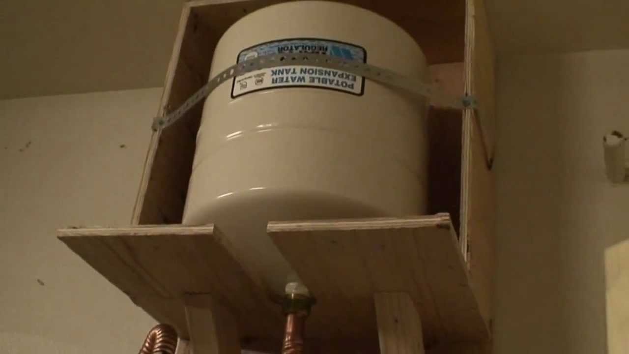 Water Heater Expansion Tank Youtube