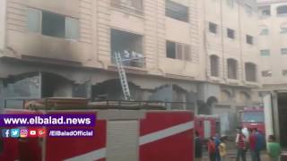 أسماء المصابين في حريق مصنع السجاعي بالمحلة بعد السيطرة على النيران .. فيديو وصور