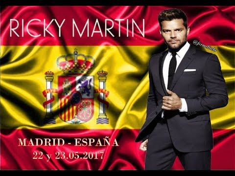 (VIDEO COMPLETO) Ricky Martin en vivo en Madrid   Wizink Center (23.05.2017)