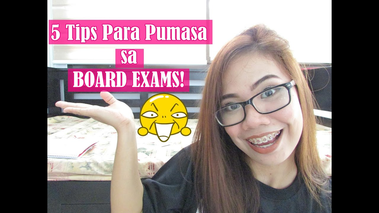 5 TIPS TO PASS THE BOARD EXAM!