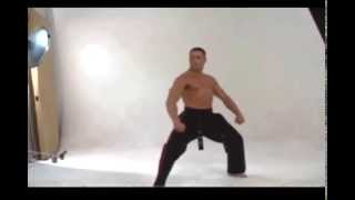 Jean-Claude Van Damme | Karate Demonstration Photo Shoot