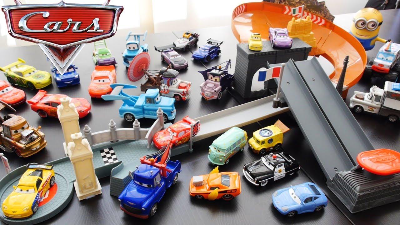 Cars Rivals Race Off Track Set Disney Pixar Cars Lightning