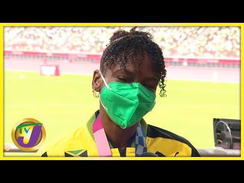 TOKYO 2020: Megan Tapper wins Jamaica's 1st Medial in 110m Hurdles Interview