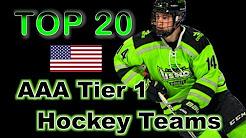 Top 20 AAA Tier 1 Teams - USA