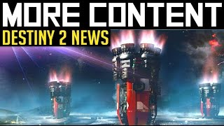 Destiny 2 | no content drought? - will bungie's expanding studio mean more regular content?