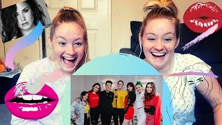 DEMI LOVATO MEDLEY ft. JAMES CHARLES - SISTER SING OFF! *REACTION!!* ft DOUBLE TROUBLE