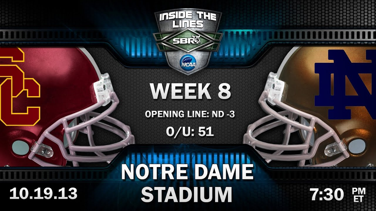 USC Trojans vs Notre Dame Fighting Irish Preview College Football