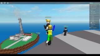 Hurricane Katrina| Natural Disaster Survival ROBLOX Episode 1