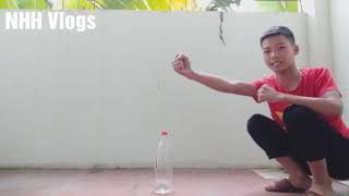 | NHH Vlogs |☆ Thử lật Trai nước và cái kết | challenge to flip the water boy |