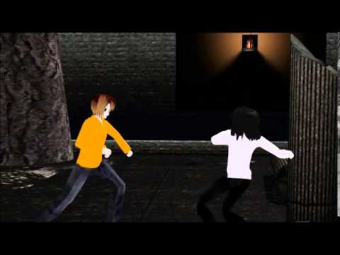 Mmd Creepypasta Jeff Vs Masky Youtube