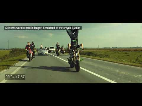 World's Longest Headstand On Motorcycle | Bike Stunts 2017 | People Are Awesome | Talentdunia