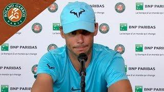 Rafael Nadal - Press Conference after Quarter-Final I Roland-Garros 2018
