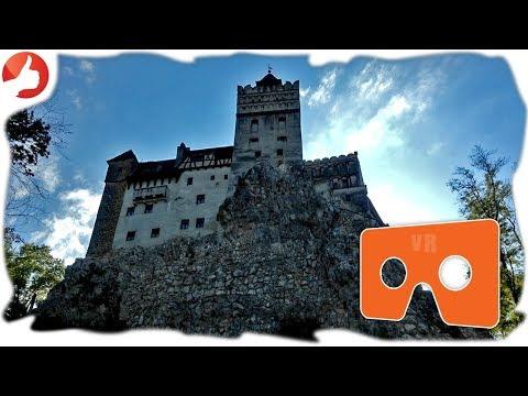 Castelul Bran in VR 360° Romania travel