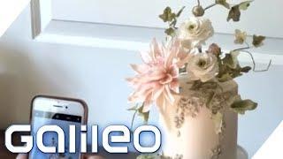 8.500 Euro Torte: So entstehen Luxus-Blumen als Tortendekoration | Galileo | ProSieben