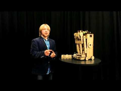 JENGA Robot design project, VUB (Eran, Niels, Brecht)