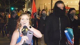 Kaitlin Bennett Meets Antifa