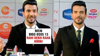 Manit Joura aka Rishabh REACTS On Mahira Sharma In Bigg Boss 13 | Zee Rishtey Awards 2019