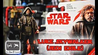 Star Wars The Last Jedi | Luke Skywalker Jedi Exile Force Link Action Figure |The Dan-O Channel