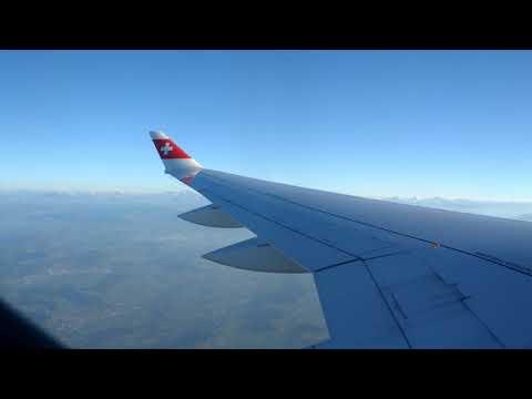 ONBOARD - SWISS CS100 LX466 Zurich Airport to London City (FULL FLIGHT)