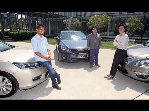 DRIVEN 2014 #3: Honda Accord vs Nissan Teana vs Kia Optima