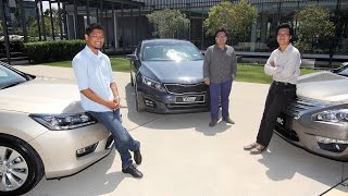 DRIVEN 2014 #3: Honda Accord vs Nissan Teana vs Kia Optima