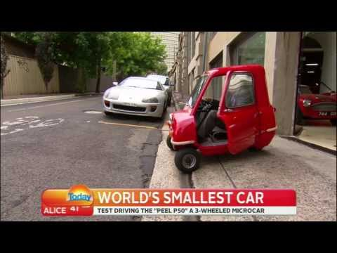 THE P50 - THE WORLD'S SMALLEST CAR