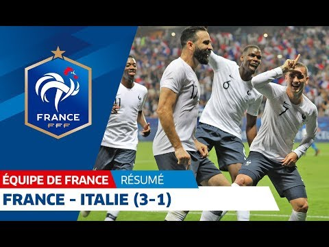 France: France-Italy (3-1), highlights I FFF 2018