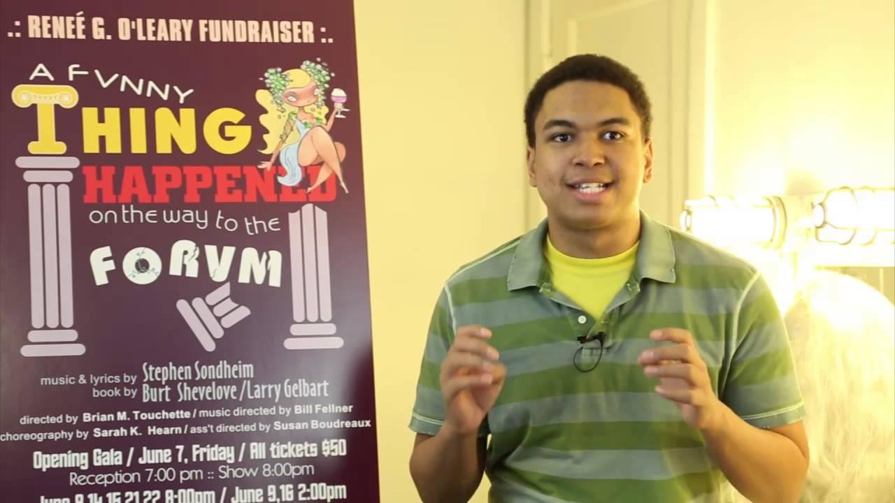 Forum Actor Interview Dominic Santos