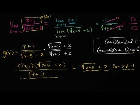 limits-by-rationalizing-|-limits-and-continuity-|-ap-calculus-ab-|-khan-academy