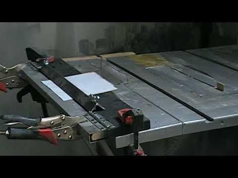 Moderne DIY : Fabrication d'une Plieuse à tôle métal, très simple à KB-73