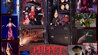 Our Puppet Master Collection in case. Full Moon