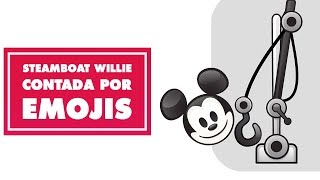 Steamboat Willie contado por emojis | Oh My Disney