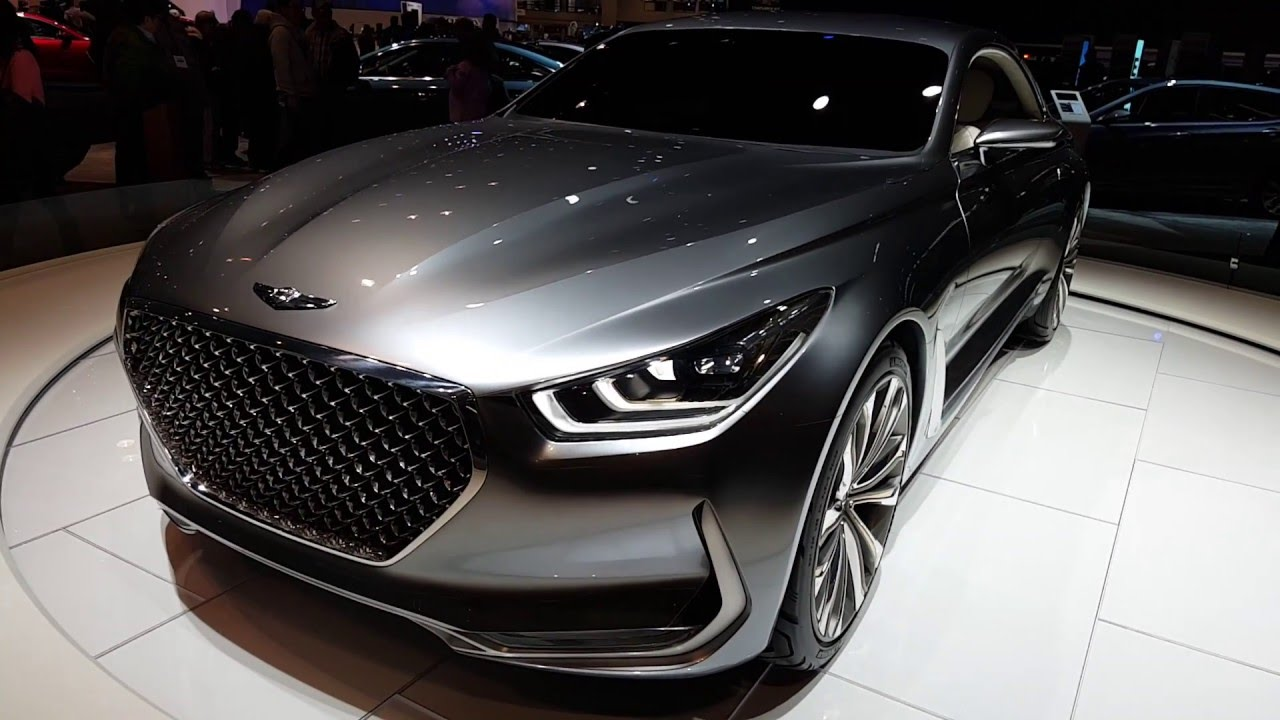 2017 hyundai genesis coupe at the mccormick place youtube. Black Bedroom Furniture Sets. Home Design Ideas