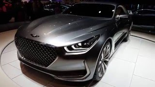 Hyundai Genesis G90 coupe (Хендай Дженезис) 2017 видео обзор и тест драйв