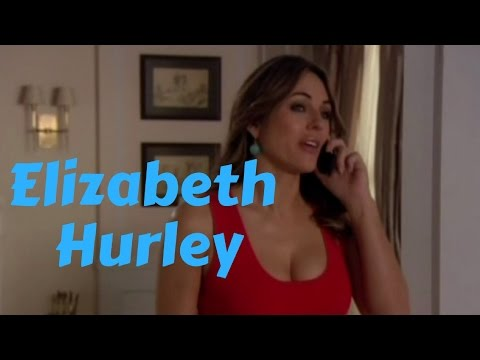 Elizabeth Hurley Curves in Figure Hugging Mini Dresses in Fave Gossip Girl Scenes