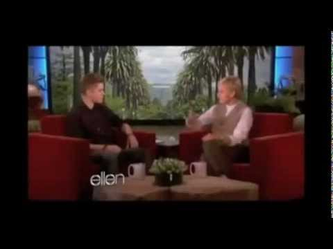 Ellen In Justin Bieber Mistletoe Video (FULL)