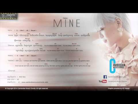 Nikki Nikki - Mine (Lyric & Chord By Cambodian Music Chord)