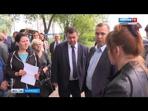 Вадим Шумков проинспектировал Петуховский район