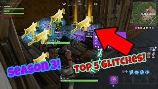 Fortnite Battle Royale glitches (Top 5) After season 3 update PS4/Xbox one 2018
