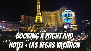 Booking a Flight and Hotel | ESL Vlog
