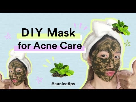 GET ACNE FREE SKIN IN JUST 7 DAYS   DIY GREEN TEA MASK FOR ACNE
