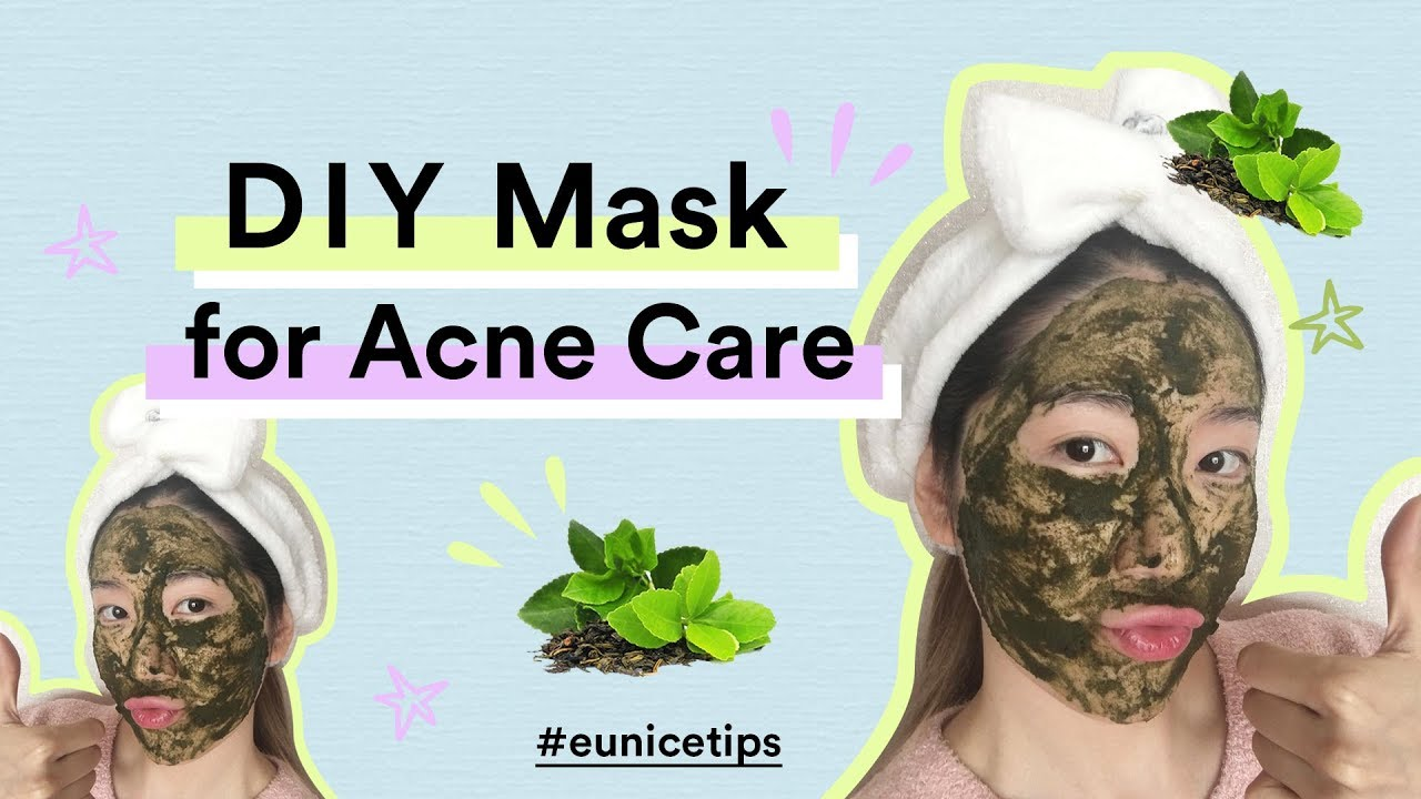 Get Acne Free Skin In Just 7 Days Diy Green Tea Mask For Sensi Masker Face