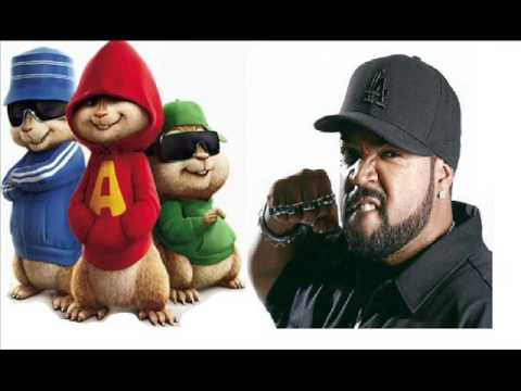 Alvin y las Ardillas Go to church Ice Cube
