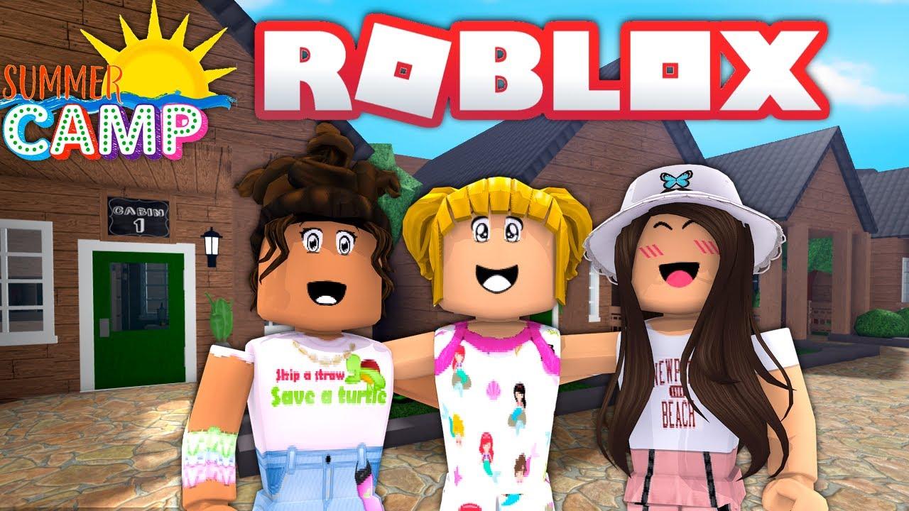 Bloxburg Summer Camp in Open! Goldie & Fans Rolplay in Roblox - Titi Games