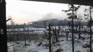 Жесть! Бои за АД. Aэропорт Донецка Украина!
