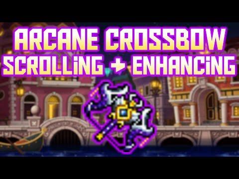 Arcane Umbra Crossbow Scrolling & Enhancing!