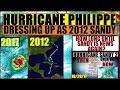 Hurricane PHILIPPE Dressing As 2012 #HurricaneSANDY for HALLOWEEN (And no one seems to care)re